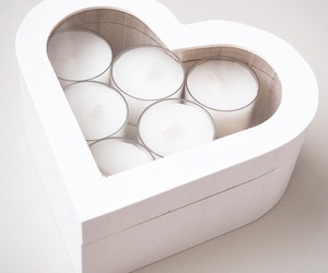 box, candle, and candles image