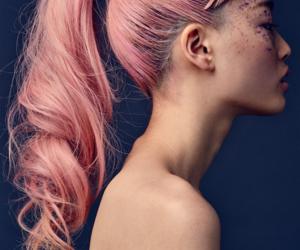 pink hair and fernanda ly image