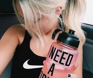 girl, fitness, and nike image