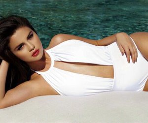bikini and selena gomez image