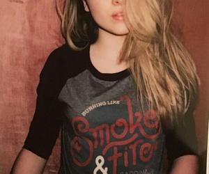 sabrina carpenter, smoke and fire, and maya hart image
