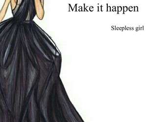 drawing, girl power, and make it happen image