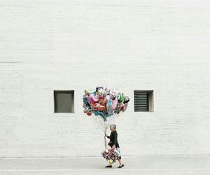 balloon, beautiful, and minimal image