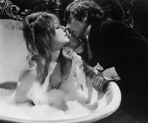 b&w, bae, and bathtub image