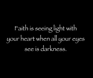 faith and seeing the light image