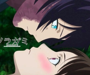 noragami, anime, and yatori image