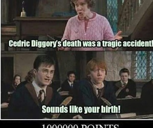 harry potter, funny, and umbridge image