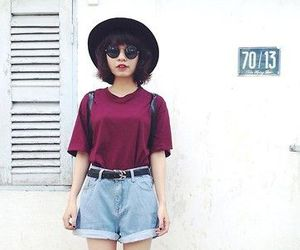 hat, style, and outfit image