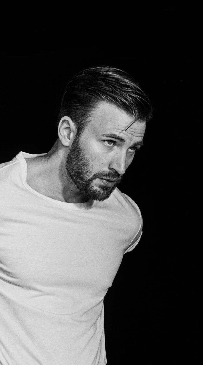 Image About Black In Chris Evans By Hades On We Heart It