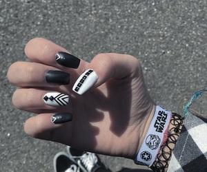 alternative, black, and nails image