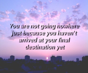 quote and sunset image