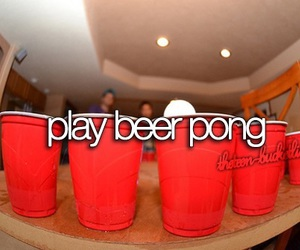 beer, pong, and summer image