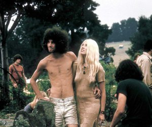 70's, woodstock, and seventees image