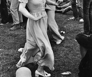 woodstock, hippie, and dance image
