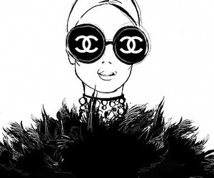 black, illustration, and paris image