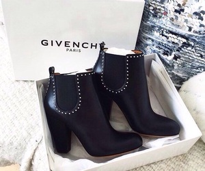 black, Givenchy, and paris image