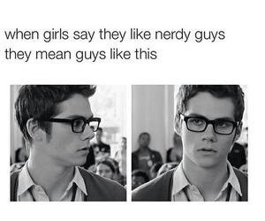 dylan o'brien, nerd, and teen wolf image