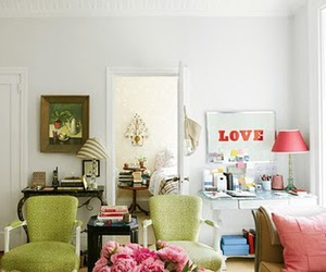 pink, love, and decor image