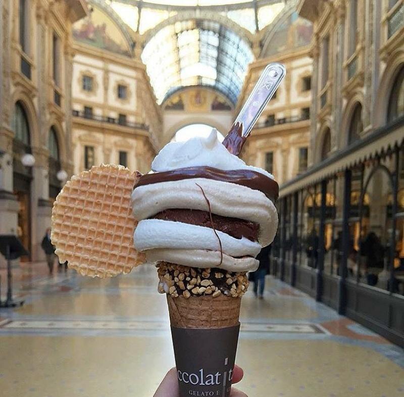 chocolate, ice cream, and yummy image