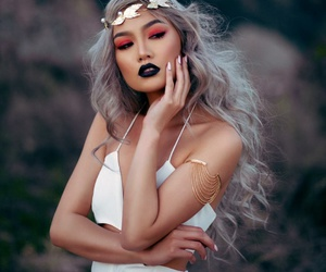 belleza, fashion, and hippies image