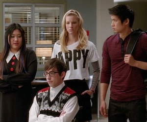 glee, artie abrams, and heather morris image