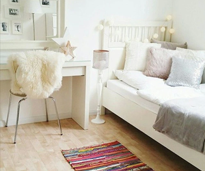 bedroom, clean, and decor image
