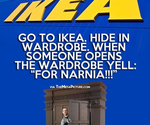 funny, ikea, and lol image