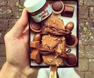 beautiful, beauty, and chocolate image