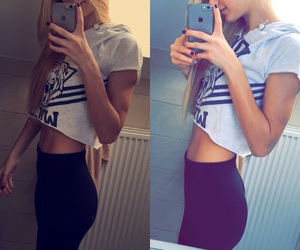 fashion, fitnes, and girl image
