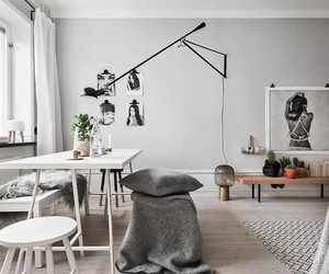 interior and Scandinavian image