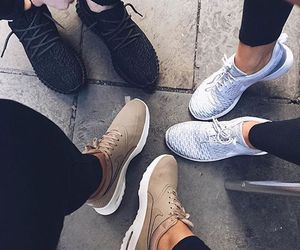 shoes, nike, and adidas image