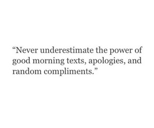 compliments and apologies image