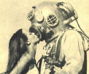 kiss, love, and vintage image