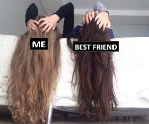 bed, best friend, and blondie image