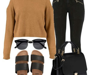 outfit, Polyvore, and sunglasses image