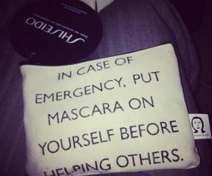 asos, mascara, and emergency image