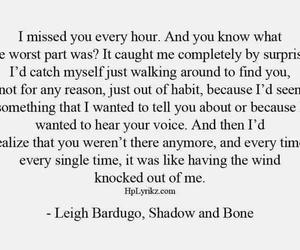 sad, love, and i miss you image