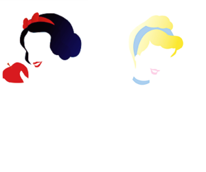 Biancaneve, snow white, and cenerentola image