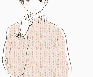 boy, illustrator, and japan image