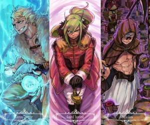fairy tail, bickslow, and freed justine image