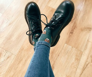 shoes, socks, and style image