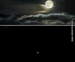 moon, camera, and funny image