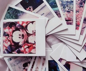 disney, pictures, and polaroid image
