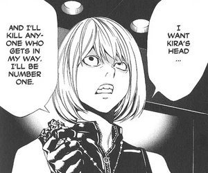 mello, death note, and mihael keehl image