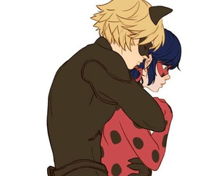 Chat Noir, ladybug, and miraculous image