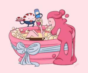 adventure time and princess bubblegum image