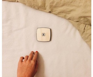 bed, chanel, and makeup image