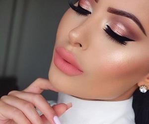 blush, eyebrows, and eyeshadow image