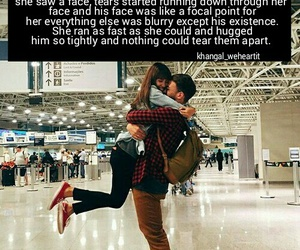 adorable, airport, and boyfriend image