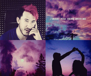 city, sky, and markiplier image